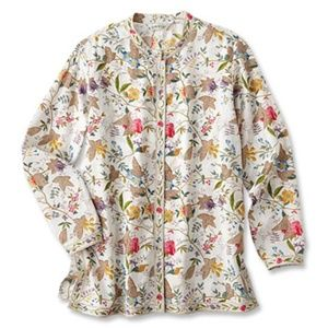 Orvis Floral and Vine Tunic
